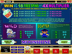 Moonshine Payscreen