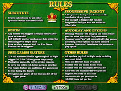 Realm of Riches Payscreen